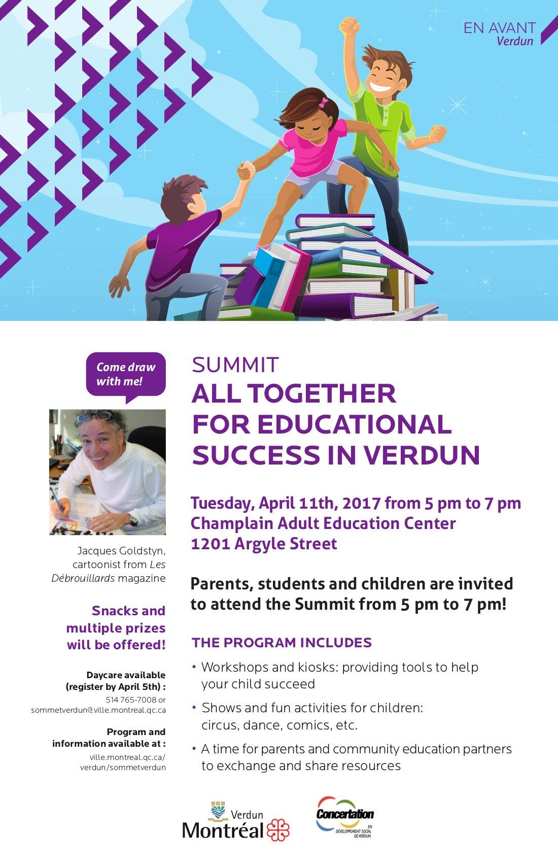 Education Summit Invite
