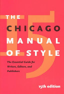ChicagoManualofStylecover